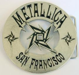 Metallica - 'San Francisco' Buckle